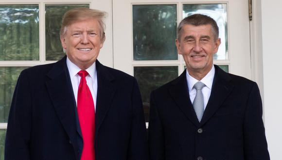 Quién es el magnate Andrej Babis, conocido como el Donald Trump de República Checa. Foto: AFP