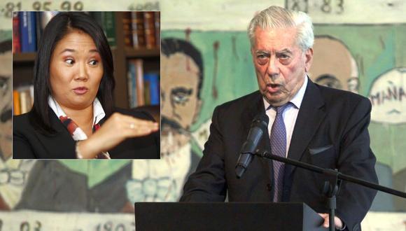 El novelista Mario Vargas Llosa adelantó que participará en la campaña presidencial del 2016 para impedir que gane Keiko Fujimori. (Foto: Alessandro Currarino/Christian Ugarte)