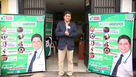El congresista Castillo es el tercer integrante del Parlamento diagnosticado con coronavirus. (Foto: GEC)