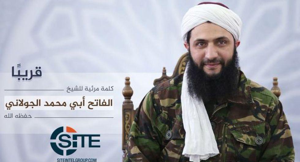 Al Qaeda en Siria muestra por primera vez la cara de su líder
