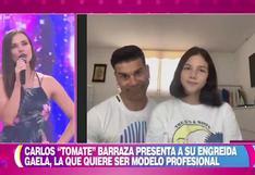 Hija de 'Tomate' Barraza contó detalles de su pasión por el modelaje