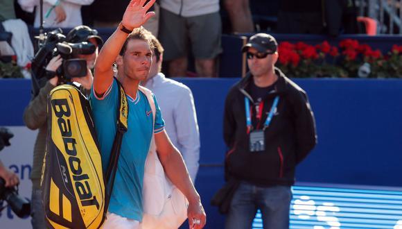 Rafael Nadal cayó en semifinales ante el austriaco Dominic Thiem y le dijo adiós al Open de Barcelona. El español suma un nuevo traspié en el circuito ATP. (Foto: AFP)