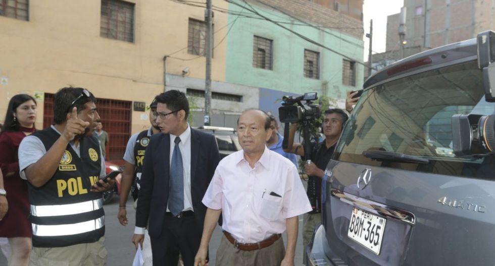 Nemesio Gizado es uno de los detenidos. (Foto: José Caja/GEC)