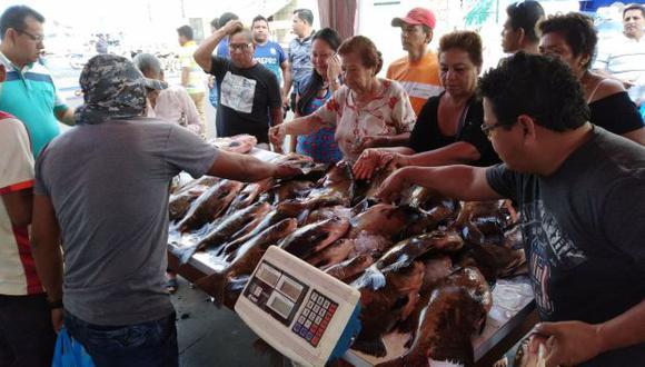 Loreto: se ofertarán siete toneladas de pescado durante Semana Santa