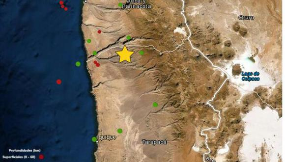 Tacna: sismo de magnitud 5.6 remeció la región, según el IGP (Foto: IGP)