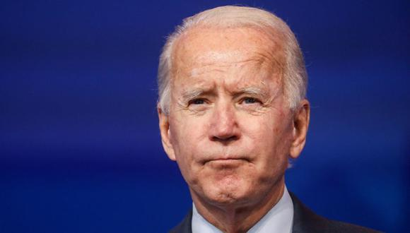 El presidente electo Joe Biden pronuncia comentarios sobre la economía y el informe final de empleos de EE. UU. en su sede de transición en Wilmington, Delaware. (Foto: REUTERS / Leah Millis).