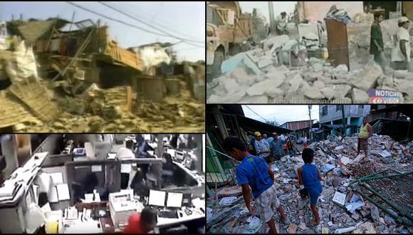 Catastróficos terremotos en Latinoamérica desde 2001 [VIDEOS]
