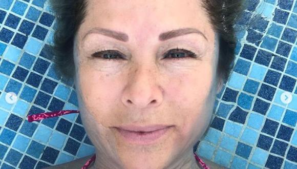 La actriz dijo que sus hijos se quedaron bajo el cuidado de sus familiares (Foto: Leticia Calderón / Instagram)