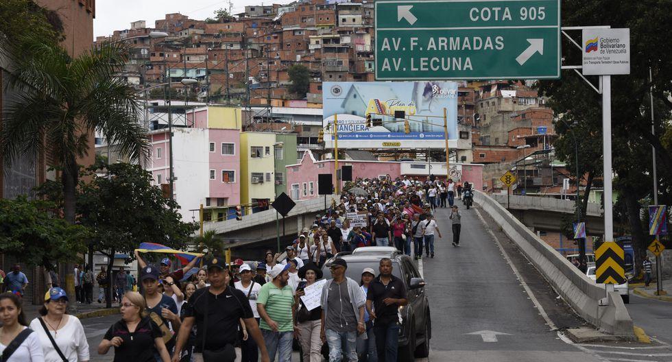 Venezuela: Los más pobres acompañan a la oposición en su epopeya para derrocar a Nicolás Maduro. (Bloomberg).
