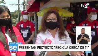 """Minam presenta estaciones de reciclaje en bodegas """"Recicla cerca de ti"""""""