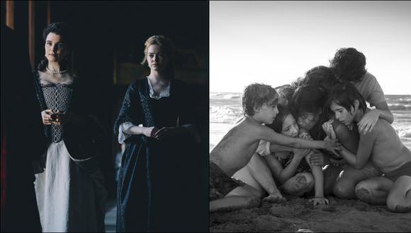 """""""The Favourite"""" y """"Roma"""", las dos favoritas para los premios BAFTA 2019. (Foto: Agencias)"""