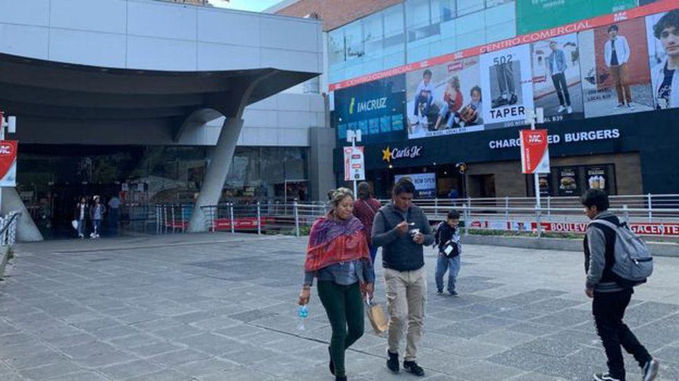 Los enormes centros comerciales en las principales ciudades de Bolivia se multiplicaron en la última década.