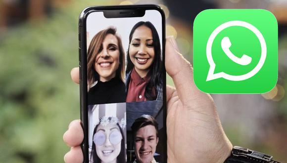 ¿Quieres realizar una videollamada grupal con todos tus familiares? Estos son los pasos que debes seguir. (Foto: WhatsApp)