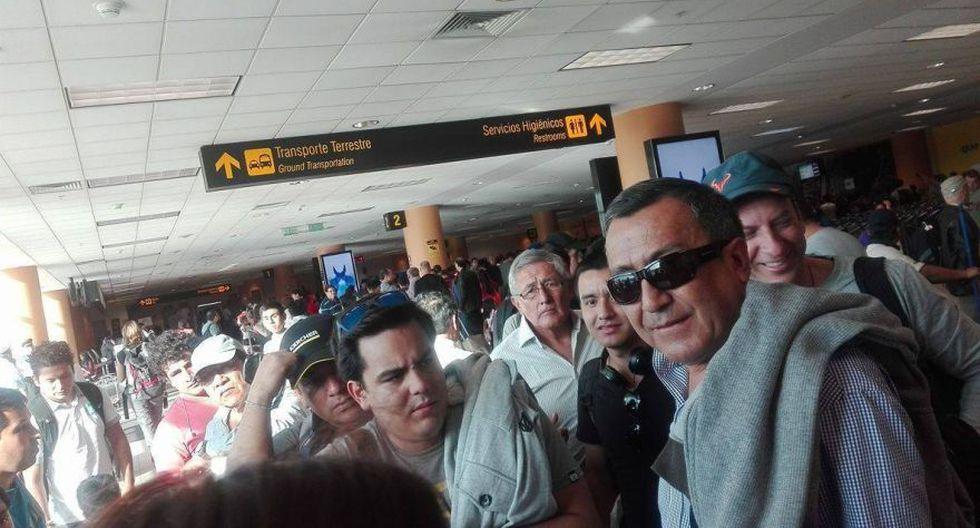 Caos y largas colas en Jorge Chávez por avería de avión [FOTOS] - 3