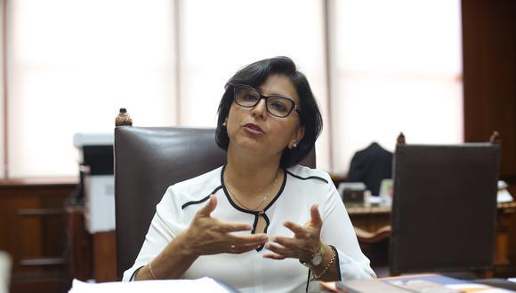 El Ministerio de Salud establece protocolos para que las personas con factores de riesgo puedan volver a desarrollar actividades presenciales, según Sylvia Cáceres. (Foto: MTPE)