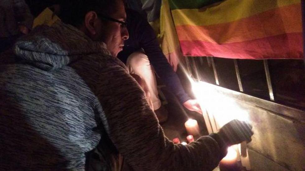 Masacre de Orlando: realizaron plantón solidario en Surco - 1