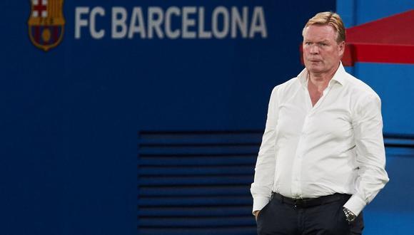 Ronald Koeman llegó a Barcelona procedente de la Selección de Holanda. (Foto: EFE)