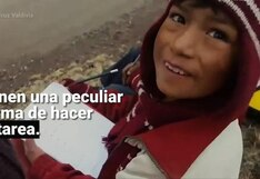 Caminos del Inca: escolares de Huancavelica aprenden los números a través de competencia automovilística