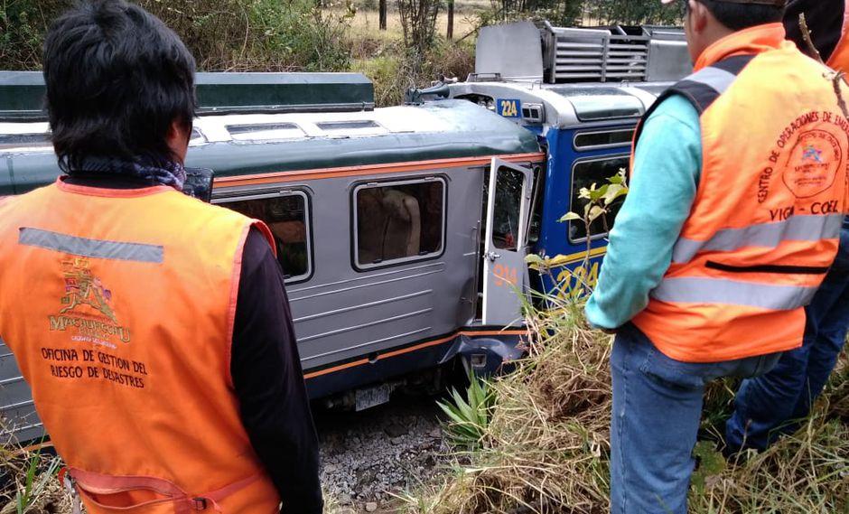 Investigan si se cumplió tiempos de salida de trenes en vía férrea de Cusco