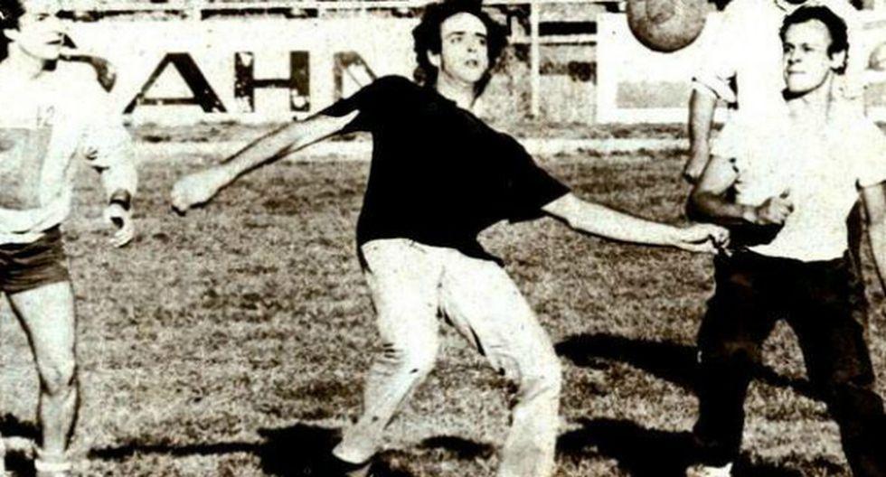 Cuando Gustavo Cerati prefirió jugar fútbol antes que cantar