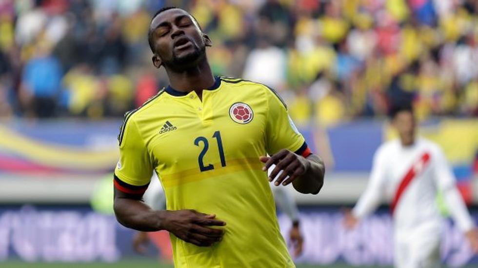Selección Colombia: Jackson Martínez es baja ante Argentina - 1