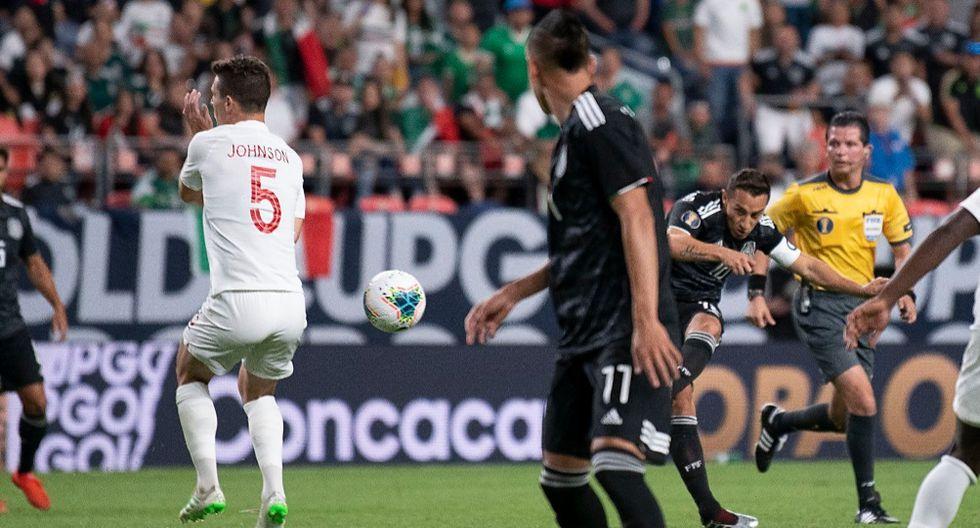 México venció 3-1 a Canadá y clasificó a la siguiente ronda de la Copa Oro 2019. | Foto: Selección Mexicana
