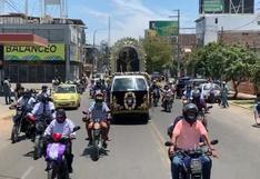 Piura: procesión móvil del Señor de los Milagros atrajo gran cantidad de motociclistas | VIDEO