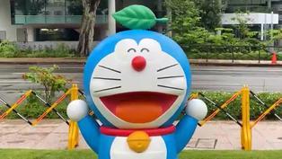 Singapur celebra el 50 aniversario de Doraemon