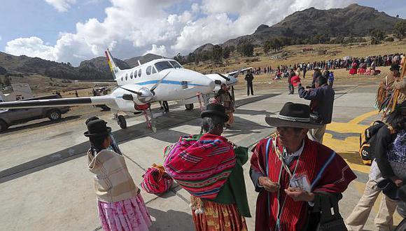 Bolivia invirtió casi US$7 millones en la construcción del nuevo aeropuerto. (Foto: EFE)