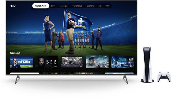 Apple TV+ en PS5. (Imagen: Sony)