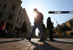 Lima soportará una temperatura máxima de 24°C, hoy viernes 23 de abril, según Senamhi