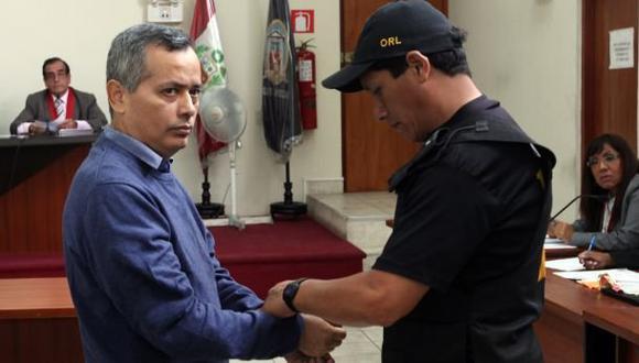 Rodolfo Orellana: PJ amplía por 18 meses su prisión preventiva