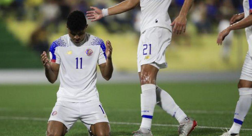 Costa Rica es anfitrión de Haití en el cierre de la serie de la Liga de Naciones. (Foto: AFP)