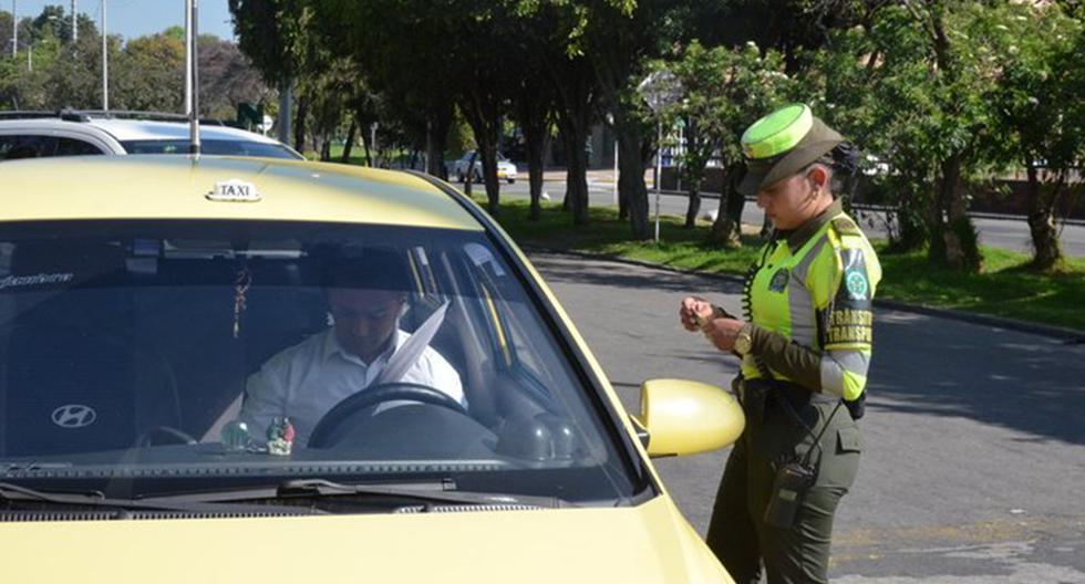 El 'pico y placa' en Colombia es obligatorio en todos los vehículos motorizados. El incumplimiento de esta norma genera una multa de 414.100 pesos. (Foto: @TransitoBta)