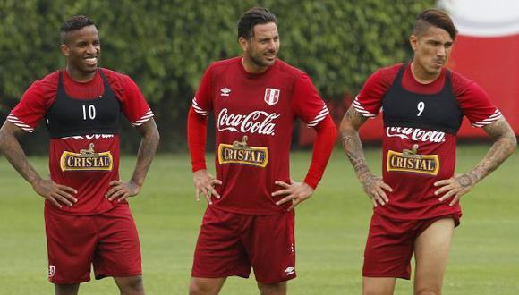 Paolo Guerrero, Claudio Pizarro y Jefferson Farfán son algunos de los '9' convocados por Ricardo Gareca, pero la lista es mucho más amplia. (Foto: GEC)