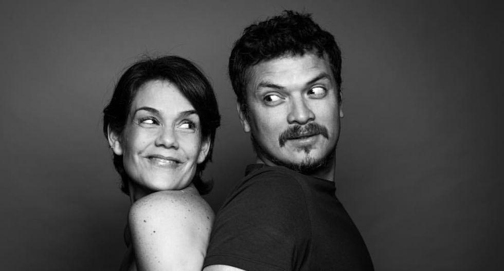 Oscar Lopez Arias y Daniela Sarfati (Fuente: Instagram)