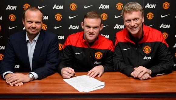 Wayne Rooney renovó con el Manchester United hasta el 2019