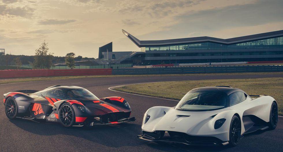 Aston Martin apostó por la tecnología 3D para diseñar los faros del Valhalla.