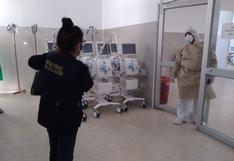 Hospital COVID de Pucallpa tiene ventiladores mecánicos sin instalarse desde hace un mes