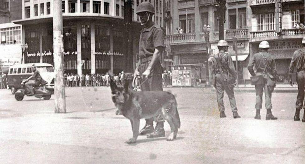 La gestión económica del régimen militar se caracterizó por una alta inversión pública y un elevado endeudamiento.  Crédito: Archivo nacional de Brasil