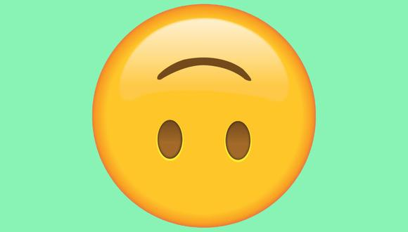 ¿Sabes realmente qué significa el emoji de WhatsApp de la carita al revés? (Foto: Unicode)