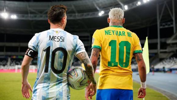 Lionel Messi y Neymar son los mejores jugadores de la Copa América para Conmebol. (Foto: Conmebol)