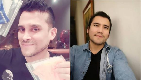 "Angelo Fukuy sobre lágrimas de Christian Domínguez: ""Nos ha sorprendido"".  (Foto: @angelofukuyperu/@chrisdominguezof)"