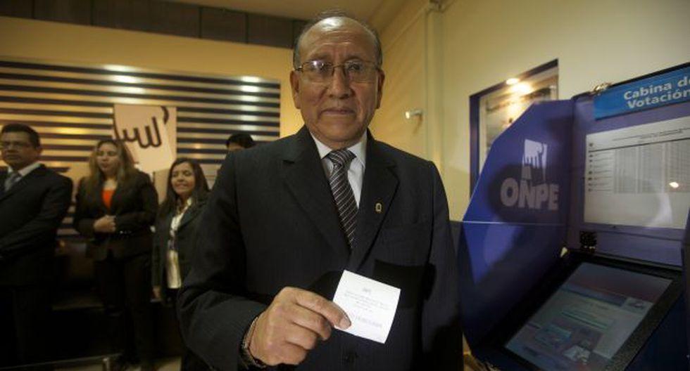 Jefe de ONPE invocó a electores a emitir voto informado mañana