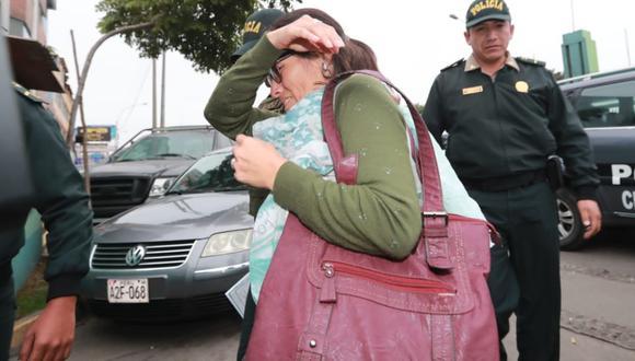 Leonor Soledad Velásquez Gonzales (51) detalló cómo ocurrió el accidente de tránsito. (Foto: Lino Chipana / GEC)