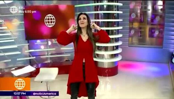 Silvia Cornejo reaparece bailando - TROME