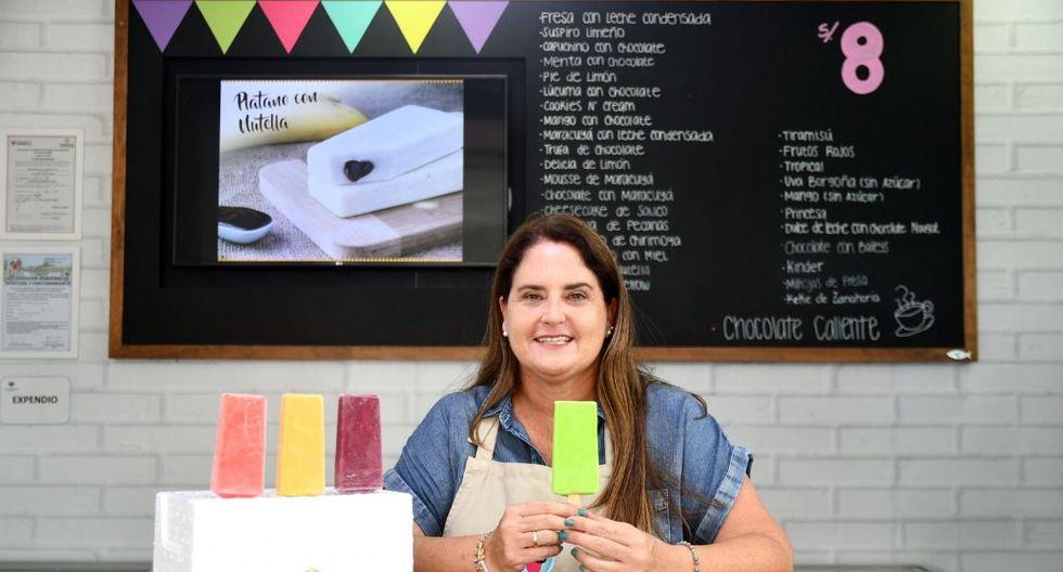 Sandra Da Ponte dejó de trabajar en un nido para emprender su negocio propio. (Foto: Mario Panta)
