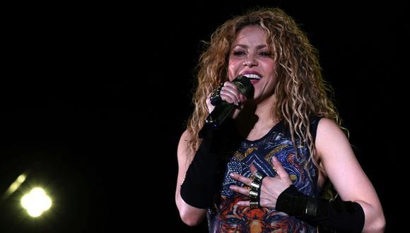 Shakira. (Foto: EFE)