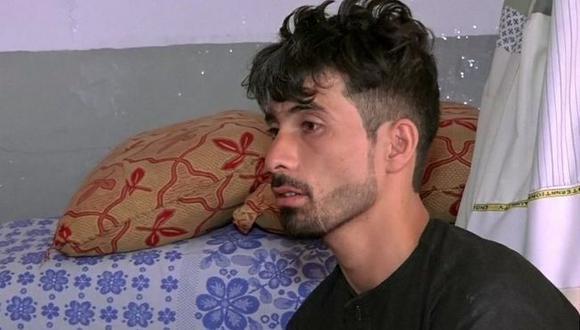 """Mirwais Elmi le contó al canal noticioso Tolo News que """"jamás volveré a conocer la felicidad en mi vida"""". Foto: Reuters, vía BBC Mundo"""