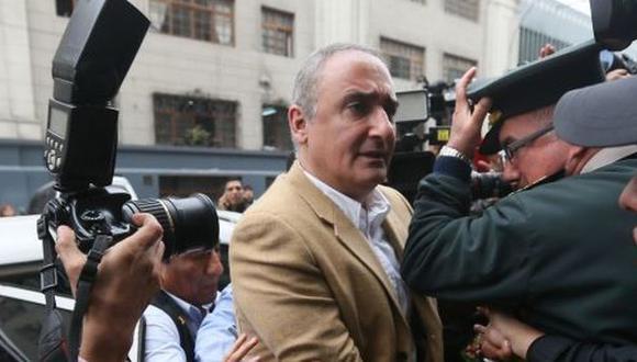Álex Kouri fue trasladado al penal de Ancón II